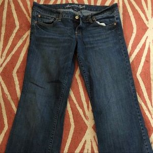 American Eagle favorite boyfriend jeans Sz 14 reg